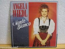 """★★ 7"""" - ANGELA WIEDL - Monte Bianco - Montagsjodler - Jupiter 1991"""