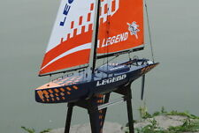 NEW RC Legend Sailboat  900mm 6ft high Almost Ready to Run ARTR Remote  Boat