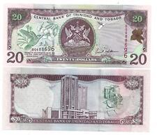 TRINIDAD & TOBAGO 20 DOLLARS 2002 UNC P 44