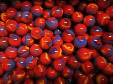 BULK LOT 2 LBS 5/8 INCH PLAYER MARBLES SUPERHERO MEGA MARBLES FREE SHIPPING