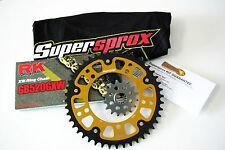 Supersprox 520 Chain and Sprocket Set for Suzuki GSXR 1000 (2009-2014) +2