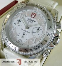 Tudor Lady Automatique Chrono ref 20310 brillante Diamonds Full set NEUF top