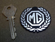 MG Garland Style Self Adhesive 50mm Car Badge Laser Cut MGB Midget MGA MGC ZT ZB