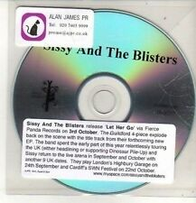 (CO352) Sissy And The Blisters, Let Her Go - DJ CD