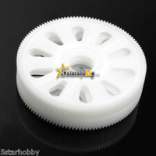 4Pcs Tarot Slant Thread Main Drive Gear White for Trex T-rex 450 Helicopter