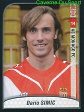 271 DARIO SIMIC CROATIA AS.MONACO DINAMO ZAGREB STICKER FOOT 2010 PANINI