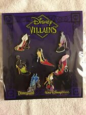 Disney Pins Villain Shoes Booster Set