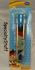 "NEW DISNEY JAKE & THE NEVER LAND PIRATES LED FLASHLIGHT 5"" BIG PARTY FAVOR (TR)"