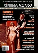 Cinema Retro  #25 Bond at 50, Hammer Films, Oliver Reed, Lawrence of Arabia