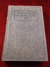 """#4 of 5, ANTIQUE USDA BOOK """"YEARBOOK OF AGRICULTURE 1932"""" US DEPT OF AGRICULTURE"""