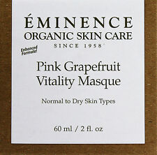 Eminence Pink Grapefruit Vitality Masque 60ml(2oz) Normal To Dry Skin **Sale***