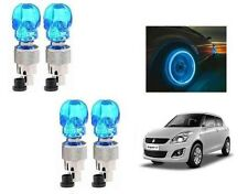 Skull Shaped Car Tyre LED With Motion Sensor Blue SET OF 4- Maruti Suzuki Swift