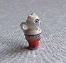 Jarra En Forma De Gato Pintado a Mano para Casa de Muñecas