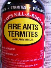 Kill-A-Bug IX outdoor spray kill termites, fire ants, spiders, scorpions, fleas