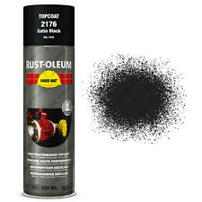 x1 Ultra-High Coverage Rust-Oleum Satin Black Spray Paint Hard Hat RAL 9005