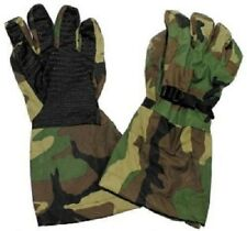 US Army Outdoor Goretex Woodland Camouflage Finger Handschuhe Gloves L / Large