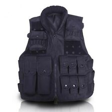 Tactical Airsoft Molle Paintball Wargame Outdoor SWAT Police Combat Assault Vest