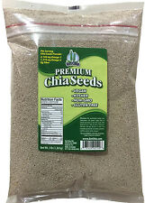 3 LBS WHITE Chia Seeds Omega 3 Oil Grown Organic Fiber No Flax Omega's Omega-3
