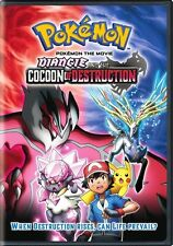 POKEMON THE MOVIE DIANCIE AND THE COCOON OF DESTRUCTION New Sealed DVD