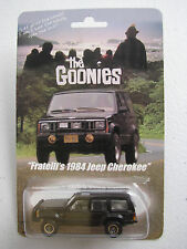 Goonies Fratelli's Black 1984 Jeep Cherokee SUV ORV Hot Wheels JL Custom