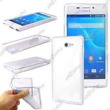 Housse Etui Coque Souple Silicone Motif S Line Transparent Sony Xperia M2 D2303