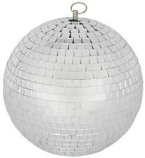 QTX 151.583 Glass 20cm Diameter Club Disco Mirror Ball Glittering Effect Display