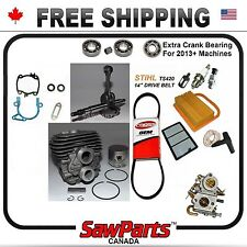 Fits STIHL TS420 CYLINDER PISTON CRANK CARB O-H KIT NIKASIL 50mm*Special Price*