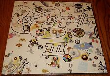LED ZEPPELIN III LP WITH GATEFOLD WHEEL COVER STILL SEALED!  ROCK & ROLL!