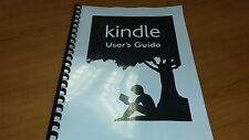 AMAZON KINDLE PAPERWHITE PRINTED INSTRUCTION MANUAL USER GUIDE 30 PAGES