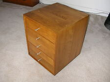 Mid Century Modern Wood Jewelry Box Chest Harvey Probber Eames Era