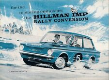 Hillman Imp Mk2 Rally Conversion 1965-66 UK Market Sales Brochure
