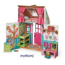 American Girl WELLIE WISHERS PLAYHOUSE welliewisher HOUSE for Wellies Doll dolls