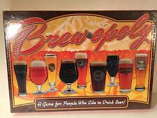 BREWOPOLY~~ A GAME FOR  PEOPLE WHO LIKE TO DRINK BEER  NEW!