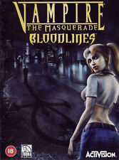 Vampire: The Masquerade - Bloodlines PC (Win XP, Vista, 7, 8, 10)