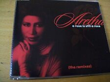ARETHA FRANKLIN A ROSE IS STILL A ROSE (THE REMIXES)  CD SINGOLO MINT-