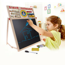 Baby Learning Drawing Board Magnetic Puzzle Development Easel Toddler Kids Toy