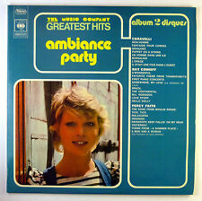 """2x12"""" LP - Various - Ambiance Party - k6027 - RAR - washed & cleaned"""