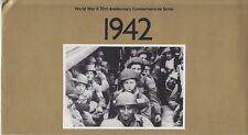 USA Block 31 ** Schalterbogen im orig. Folder World War II 1942, postfrisch, MNH