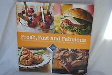 FRESH FAST FABULOUS Cookbook Sam's Club with Pictures Recipes Meal Idea Hardback