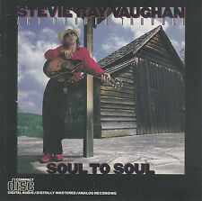 Stevie Ray Vaughan And Double Trouble - Soul to soul CD RARE 1985
