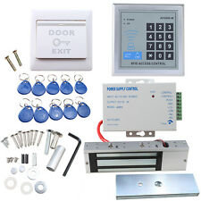 1100 LBs Kit Electric Door Lock Magnetic Access Control ID Card Password System
