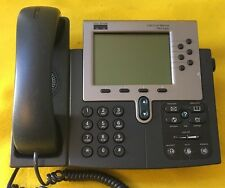 Lot of 10 Cisco IP Phone 7960 Series Model CP-7960G VoIP Business Phones