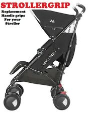 MANIGLIA FOAM Passeggino Buggy GRIP PER MACLAREN Techno XT, XLR,. gratis in UK