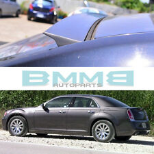 UNPAINTED FOR CHRYSLER 2011-2014 300 300C4DR VRS STYLE REAR ROOF WINDOW SPOILER