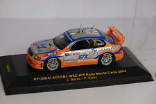 IXO HYUNDAI ACCENT WRC #71 MONTE CARLO 2004 1/43