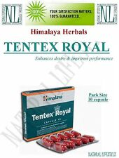 2 X Himalaya Herbal Sex Stimulants Tentex Royal 10 Caps. Enhances Desire