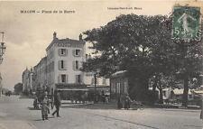CPA 71 MACON PLACE DE LA BARRE (cliché pas courant
