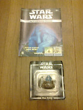THE CLASSIC STAR WARS FIGURINE COLLECTION W MAGAZINE MAX REBO ISSUE 51