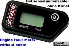 Betriebsstundenzähler ohne Kabel Motocross # MX Engine Hour Meter without cable