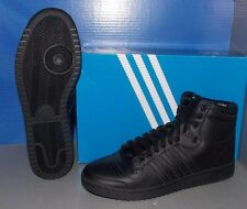 MENS ADIDAS TOP TEN HI in colors BLACK / BLACK / BLACK SIZE 13
